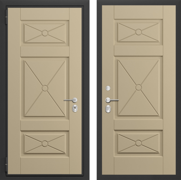 Входная дверь ПОПЕРЕЧНЫЙ ВЕНГЕ / САНДАЛ ПОПЕРЕЧНЫЙ СП185
