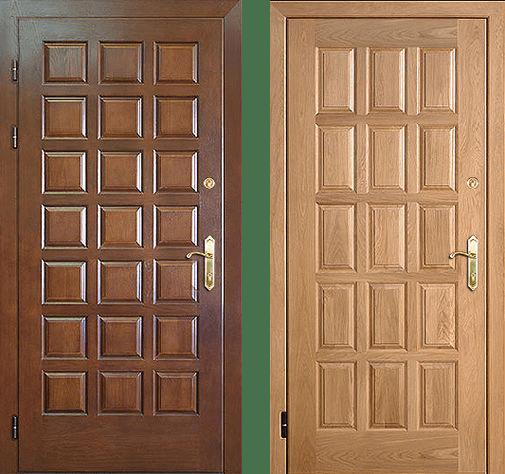 Входная дверь МДФ / МДФ СП234