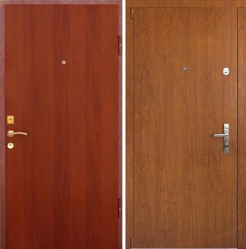 Входная металлическая дверь ламинат с обеих сторон СП010