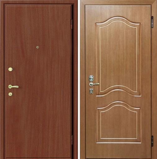 Входная металлическая дверь ламинат и МДФ СП021