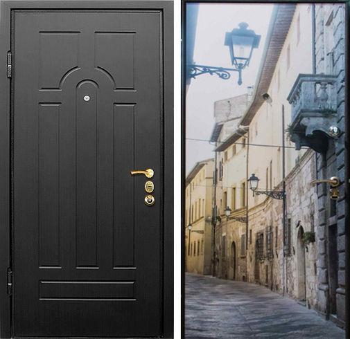 Входная металлическая дверь  МДФ + фотопечать СП311
