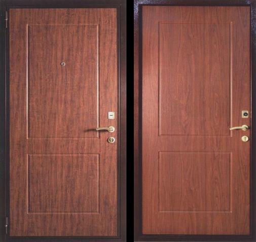 Входная металлическая дверь МДФ (ПВХ) СП055