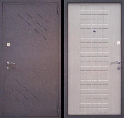 Входная металлическая дверь порошок + МДФ СП046