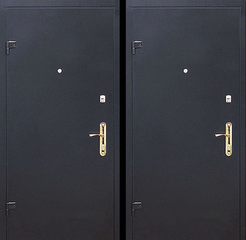 Входная металлическая дверь НЦ окрас СП009