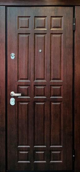 Входная металлическая дверь МДФ винорит СП070
